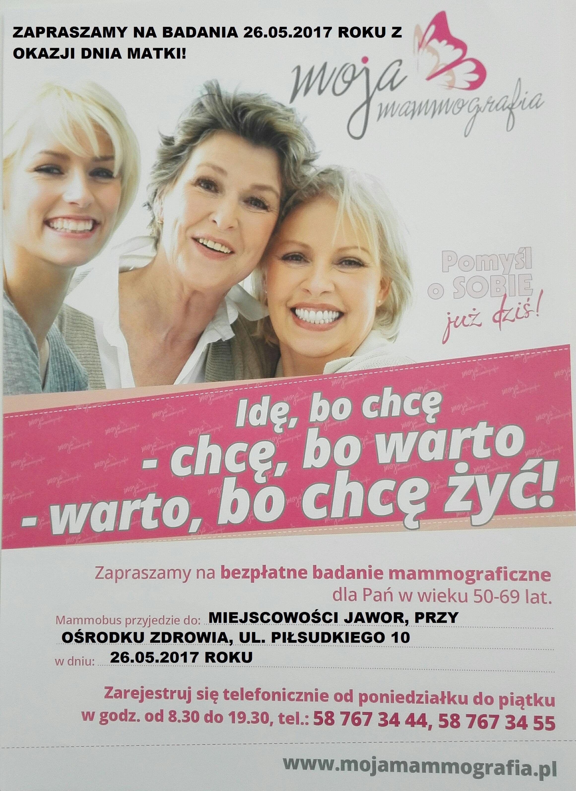 plakat(Jawor) Dzień Mamy